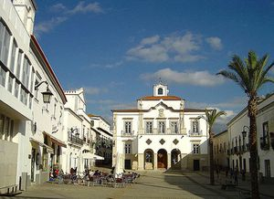 Praça, Serpa