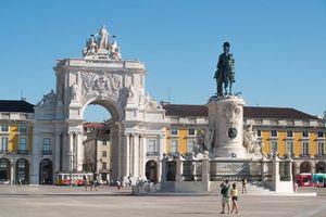 Praça do Comercio, Lisbon, Portugal
