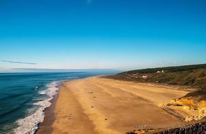 Playa do Norte, Nazaré, Portugal