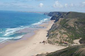 Praia da Cordoama Beach, Vila do Bispo, Algarve