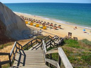 Praia da Falésia, Albufeira, Algarve