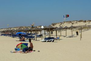 Praia da Quinta do Lago Beach