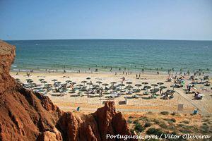 Praia da Rocha Baixinha, Albufeira