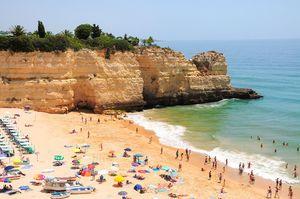 Praia da Senhora da Rocha, Lagoa, Algarve