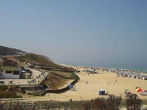 Praia Paredes da Vitória Beach, Alcobaça