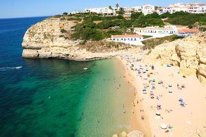 Praia de Benagil Beach, Lagoa, Algarve