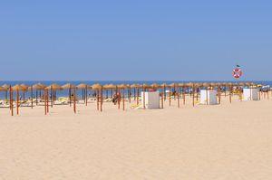 Praia de Monte Gordo Beach