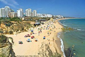 Playa de Vale do Olival, Lagoa, Algarve