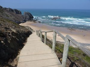 Praia do Vale dos Homens Beach, Aljezur, Algarve