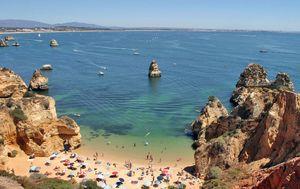 Playa do Camilo, Lagos, Algarve