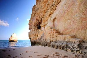 Praia do Carvalho Beach, Lagoa, Algarve