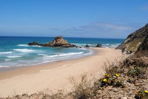 Praia do Castelejo Beach, Vila do Bispo, Algarve