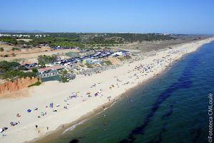 Praia do Garrão Beach