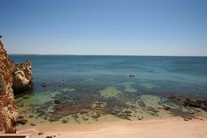 Playa do Pinhão, Lagos, el Algarve