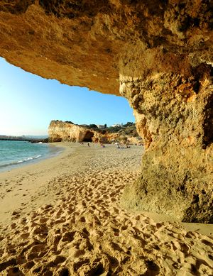 Praia do Pintadinho, Lagoa, Algarve