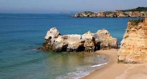 Praia dos Careanos Beach, Portimão, Algarve, Portugal