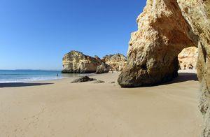 Prainha Beach, Portimão, Algarve, Portugal