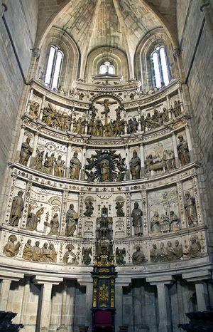 Retablo de la Catedral de Guarda