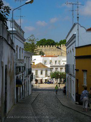 Ruas de Tavira, Algarve
