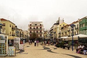 Ruas de Nazaré, Portugal