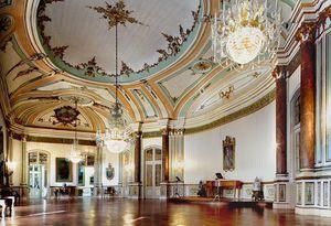 Sala da Música, Palacio Nacional de Queluz, Sintra, Portugal