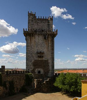 keep tower, Beja Castle