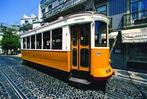 Eléctrico Alfama, Lisboa, Portugal