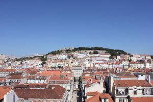 Santa Justa Lift Viewpoint, Lisbon, Portugal