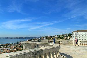 Views National Pantheon, Lisbon, Portugal