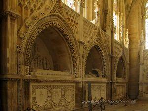 Interior del Monasterio de Batalha