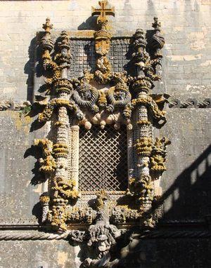 Janela do Capítulo, Convento de Cristo, Tomar, Portugal