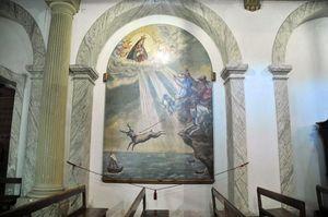 Tela Milage, Santuario de Nossa Senhora da Nazaré, Nazaré, Portugal