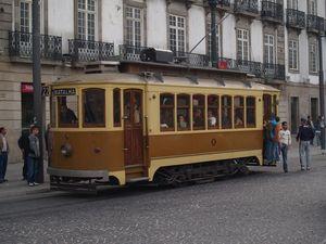 Tranvía en Oporto, Portugal