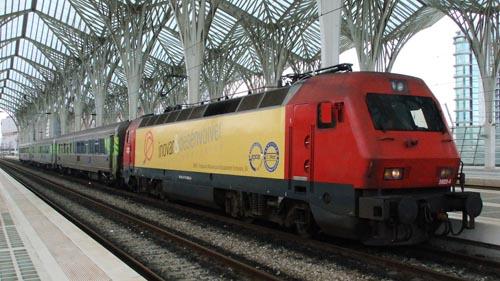 Tren en Portugal